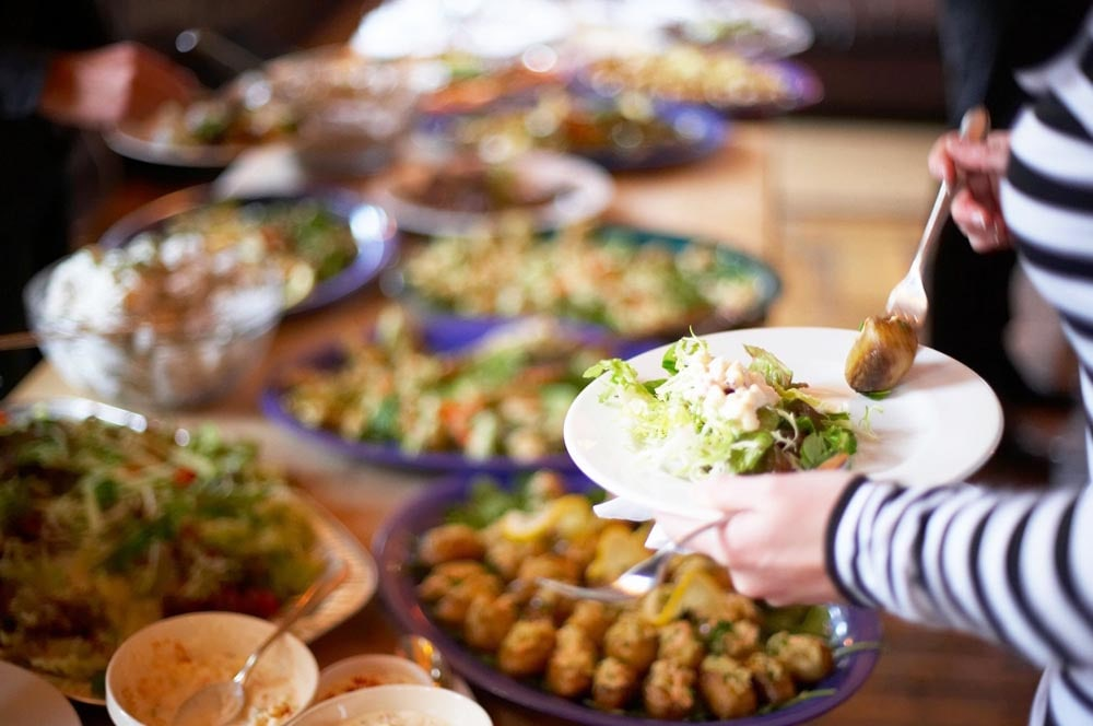 Lunch Buffet at The Villa | Lunch Events in Orange County