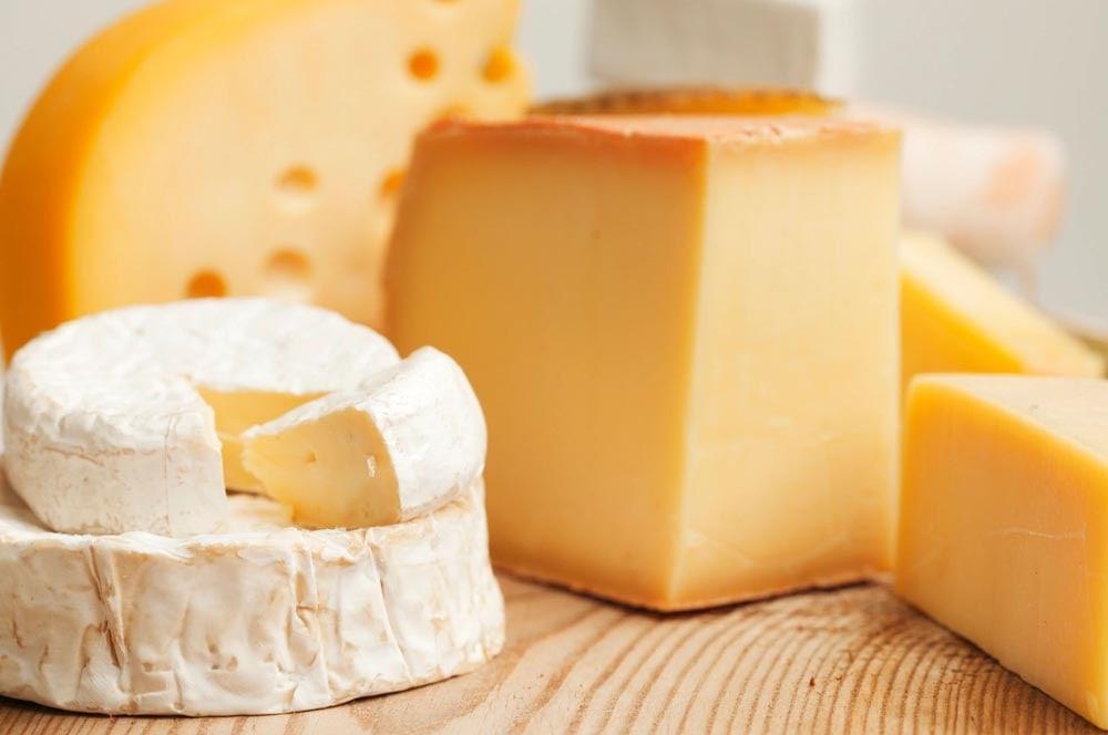 Cheese Assortment at The Villa