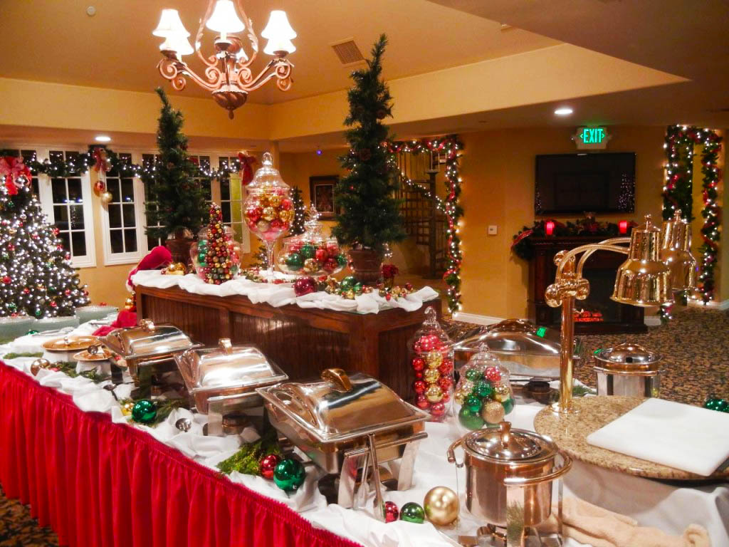 Christmas Parties in Orange County | The Villa